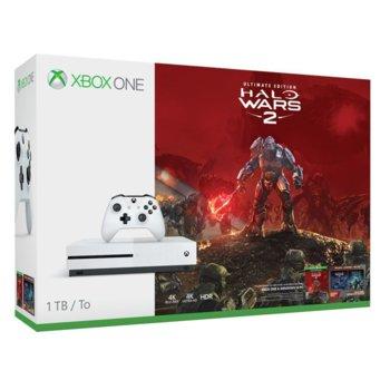 Xbox One S + Halo Wars 2 product