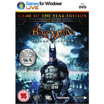 Batman Arkham Asylum GOTY product