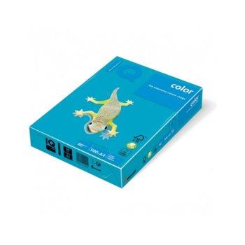 Хартия Mondi IQ Color AB48, A4, 80 g/m2, 500 листа, синя image