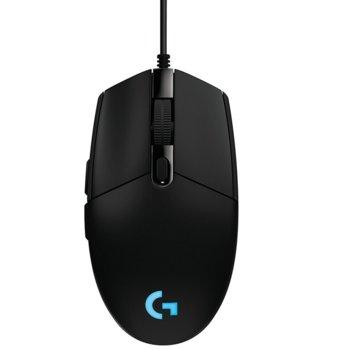 Мишка Logitech G203 Prodigy, оптична (6000dpi), USB, черна image