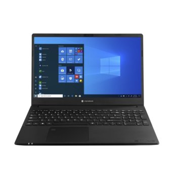 "Лаптоп Dynabook Toshiba Satellite Pro L50-G-162 (PBS12E-05Y028G6), двуядрен Comet Lake Intel Celeron 5205U 1.90 GHz, 15.6"" (39.62 cm) Full HD Anti-Glare Display, (HDMI), 4GB DDR4, 256GB SSD, 1x USB 3.1 Type-C, Windows 10 Home image"