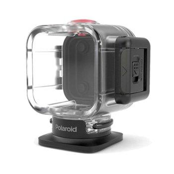 Протектор/калъф Polaroid Waterproof Case, за екшън камера Polaroid Cube, водонепромокаем, прозрачен image