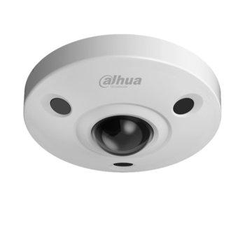 IP камера Dahua IPC-EBW81230, Куполнa камерa, 12 МPix 4Mpix(4000x3000)/25FPS), обектив 1.98mm/F2.8, Video compression H.265/H.264, IR осветеност (до 10m), Степен на защита IP67 & IK10, PoE (802.3af), RJ-45, MicroSD слот, 1-chanel audio in/out and Mic image