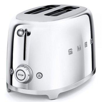 Тостер SMEG TSF01SSEU, 3 степени, автоматично изключване, ретро дизайн, 950W image