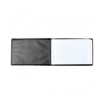 Визитник Centrum, събира 40бр. визитки, кожен черен image