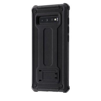 Калъф за Samsung Galaxy S10 +, полиуретан, Hama Army, черен image