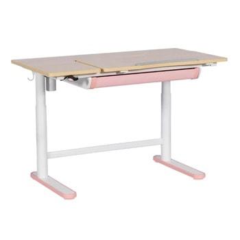 Детско бюро Carmen CR-201, до 40кг максимално натоварване, регулируема височина, розово image