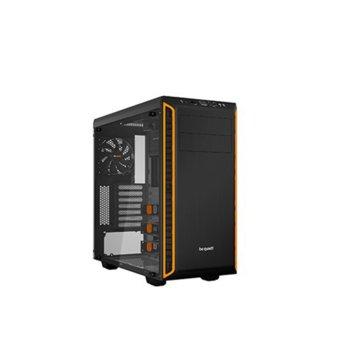 Кутия Be Quiet Pure Base 600, ATX/microATX/Mini-ITX, 2x USB 3.0, черна с оранжев кант, без захранване image