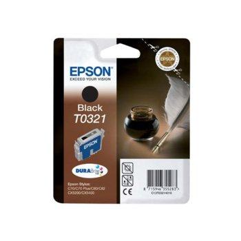 ГЛАВА ЗА EPSON STYLUS C 70/C80 - Black - P№ T 0321 product