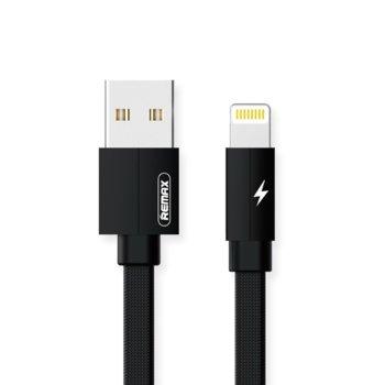 Кабел Remax Kerolla RC-094i, от USB A(м) към Lightning(м), 2m, различни цветове image