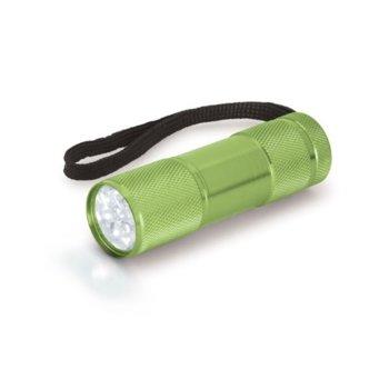 Фенер OEM, 9 LED светлини, светлозелен image