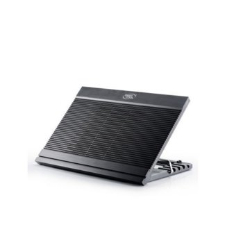 "Охлаждаща поставка за лаптоп DeepCool N9, за лаптопи до 17.3"" (43.94 cm), USB, черна image"