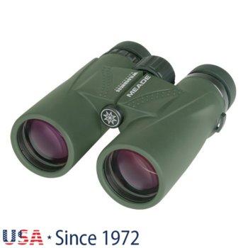 Бинокъл Meade Wilderness 8x42, 8x оптично увеличение, 42mm апертура, водоустойчив, зелен image