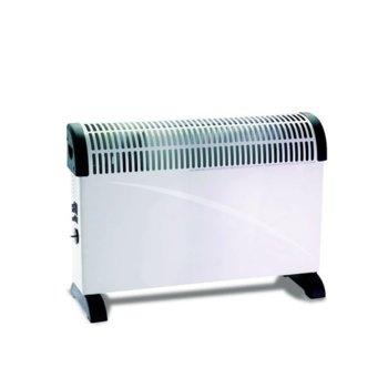 Конвектор Crown CCH-2012F, автоматичен термостат, защита срещу прегряване, 2000W, бял image