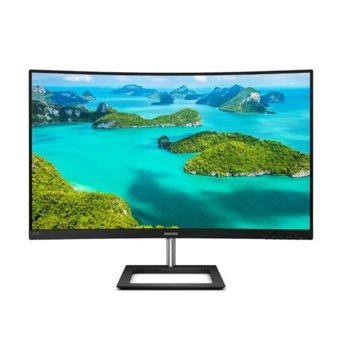 """Монитор Philips 272E1CA, 27"""" (68.58 cm) VA панел, Full HD, 4ms, 250cd/m2, HDMI, VGA image"""