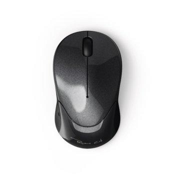 Мишка Hama Pesaro 2.4, оптична (1200 dpi), безжична, USB, черна image