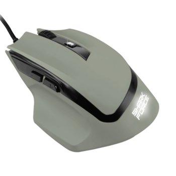 Мишка Sharkoon Shark Force, оптична (1600DPI), USB, Военно Сиво, LED подсветка image