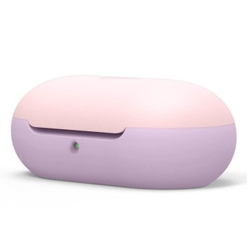 Защитен калъф Elago Basic Silicone Case за Samsung Galaxy Buds / Buds Plus, лилав/розов image