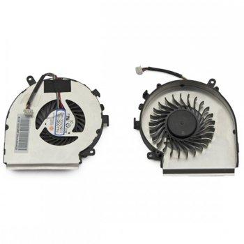 Вентилатор за MSI GE62, GE72, GE62, GP62, 4pin, 5V - 0.55A, за процесорен чип image