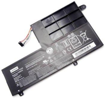 Батерия (оригинална) за лаптоп HP, съвместима с модели YOGA 510 Ideapad Flex 4, 2-cell, 7.6V, 4605mAh image