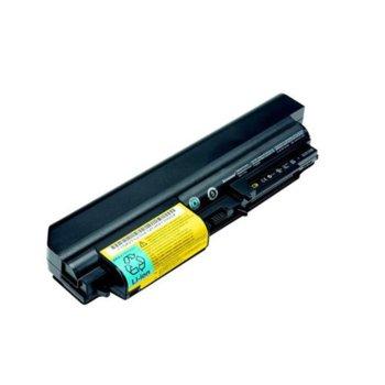 Батерия (заместител) за IBM Lenovo Thinkpad R61, съвместима с T61/R400/T400 (за 14.1), 6cell, 10.8V image