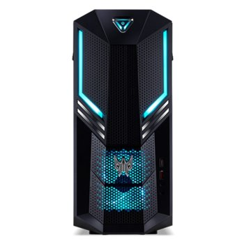 Настолен компютър Acer Predator PO3-600 (Orion 3000)(DG.E14EX.015), шестядрен Coffee Lake Intel Core i7-8700 3.2/4.6 GHz, GeForce GTX 1070 8GB, 16GB DDR4, 2TB HDD & 512GB SSD, 1x USB Type-C, клавиатура и мишка, Endless OS image