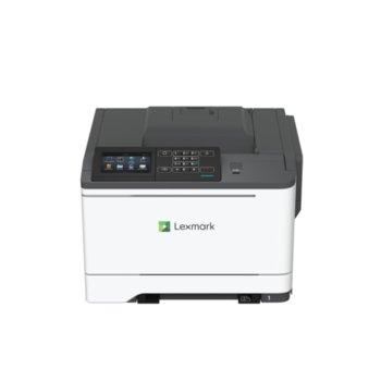 Лазерен принтер Lexmark CS622de, цветен, 1200 x 1200 dpi, 37 стр/мин, LAN1000, USB, А4 image
