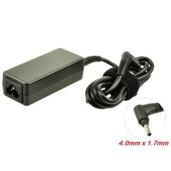 Захранване (заместител) за лаптопи HP Mini 110/210, 19.5V/2.05A/40W, 4.0x1.7mm жак image