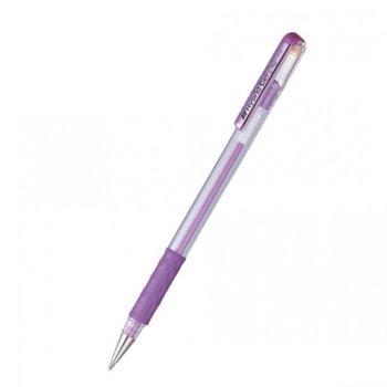 Ролер Pentel Hybrid METAL K118M, дебелина на писане 0.8mm, цвят на писане лилав image