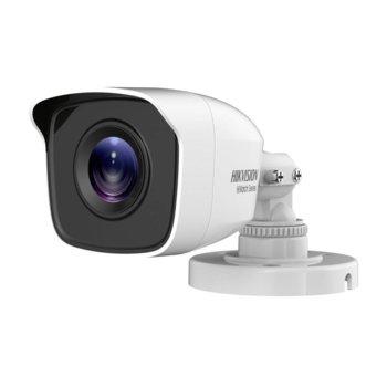 "HDCVI камера HikVision HWT-B120-M, насочена ""bullet"" камера, 2MPix(1920x1080@25fps), 2.8/3.6/6 mm, IR осветеност (до 20 m), външна IP66 image"
