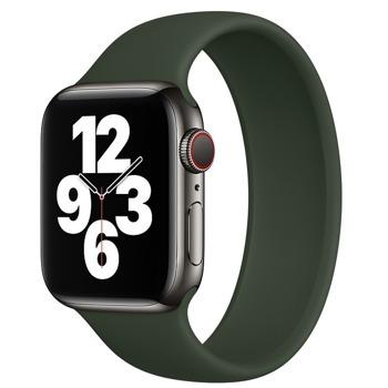 Каишка Sdesign Silicone SoloLoop Band (SDLOOP-GR-44), силиконова, за смарт часовник Apple Watch 42/44mm, зелена image