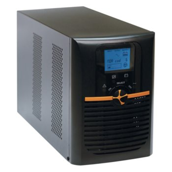 UPS TUNCMATIK NEWTECH PRO II X9 1K, 1000VA/900W, On-Line, Mini Tower, LCD Display image