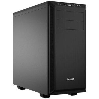 Кутия Be Quiet PURE BASE 600, ATX/mATX/miniITX, 2x USB 3.0, черна, без захранване image