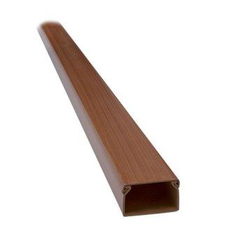 Кабелен канал Elmark, универсален, широчина 16 mm, височина 16 mm, дължина 2000 mm, пластмаса, круша image
