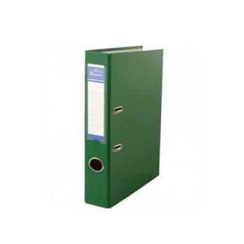 Класьор Rexon, за документи с формат до A4, дебелина 5см, с метален кант, зелен image