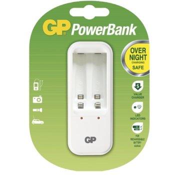 Зарядно устройствo GP Batteries PB410, за NiMh, AA, AAA батерии image