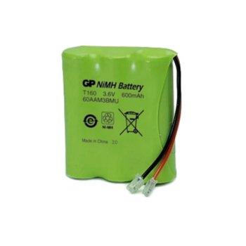 Батерия за телефон GP T160, 3x AA, 3.6V, NiMH, 600mAh, 1бр. image