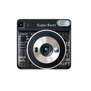 Фотоапарат Fujifilm Instax Square SQ6 (Taylor Swift Edition), моментални снимки, светкавица, Selfie Mirror image