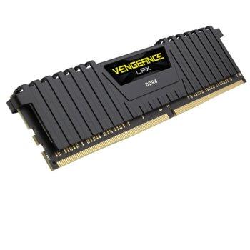 Памет 8GB DDR4 2400MHz, Corsair Vengeance LPX CMK8GX4M1A2400C14, 1.2V image