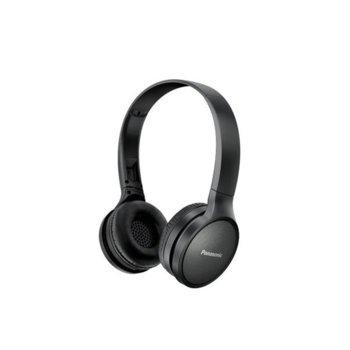 Слушалки Panasonic RP-HF410BE-K, безжични, Bluetooth, микрофон, до 24 часа време на работа, черни image