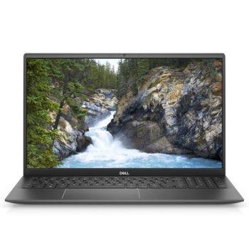 "Лаптоп Dell Vostro 5502 (N2002VN5502EMEA01_2105)(сив), четириядрен Tiger Lake Intel Core i7-1165G7 2.8/4.7 GHz, 15.6"" (39.62 cm) Full HD Anti-Glare Display & MX330 2GB, (HDMI), 8GB DDR4, 512GB SSD, 1x USB 3.2 Type-C, Windows 10 Pro image"