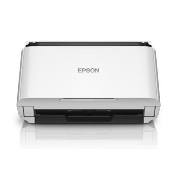 Скенер Epson WorkForce DS-410, 600 x 600 dpi, A4, двустранно сканиране, ADF, USB Type B image