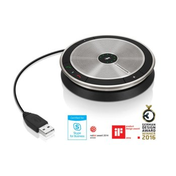 Конферентна слушалка Sennheiser SP 10, 1.0, предназначена за разговори, Skype сертифицирана, USB image