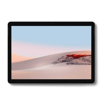 "Таблет Microsoft Surface Go 2 (STV-00017)(сребрист), 10.5"" (26.67 cm) WUXGA Touchscreen дисплей, двуядрен Amber Lake Intel Pentium 4425Y 1.70 GHz, 4GB RAM, 64GB eMMC (+ microSD слот), 8.0 & 5.0 Mpix, Windows 10 Home S image"