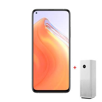 """Смартфон Xiaomi Mi 10T 5G в комплект с пречиствател на въздух Xiaomi Mi Air Purifier Pro, 6.67"""" (16.94 cm) FHD+ IPS дисплей, осемядрен Qualcomm SM8250 Snapdragon 865 2.84GHz, 8GB RAM, 128GB памет, 64.0 MP & 20.0 MP камера, Android, 216g image"""