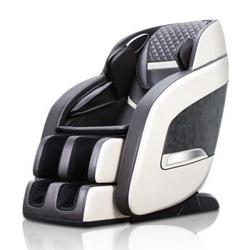 """Масажен стол Rexton R8, ролков/вибро/термомасаж, 6 автоматични и 3 ръчни програми, функция """"нулева гравитация"""", кафяв/бежов image"""