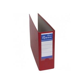 Банков класьор Rexon, за документи с формат до А5, дебелина 7см, червен image