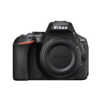 """Фотоапарат Nikon D5600 в комплект с обектив Nikon 18-140mm VR, 24.2 Mpix, 3.2"""" (8,1 cm) TFT дисплей, Wi-Fi, SDXC, HDMI (Type C), Bluetooth, USB image"""