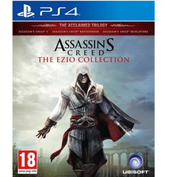 Игра за конзола Assassinss Creed: The Ezio Collection, за PS4 image
