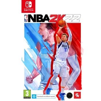 Игра за конзола NBA 2K22, за Nintendo Switch image